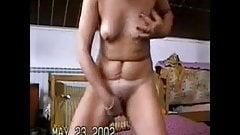 A great stolen video of my gorgeus mum having fun on web cam
