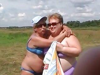 Bikini granny in - Bbw bikini