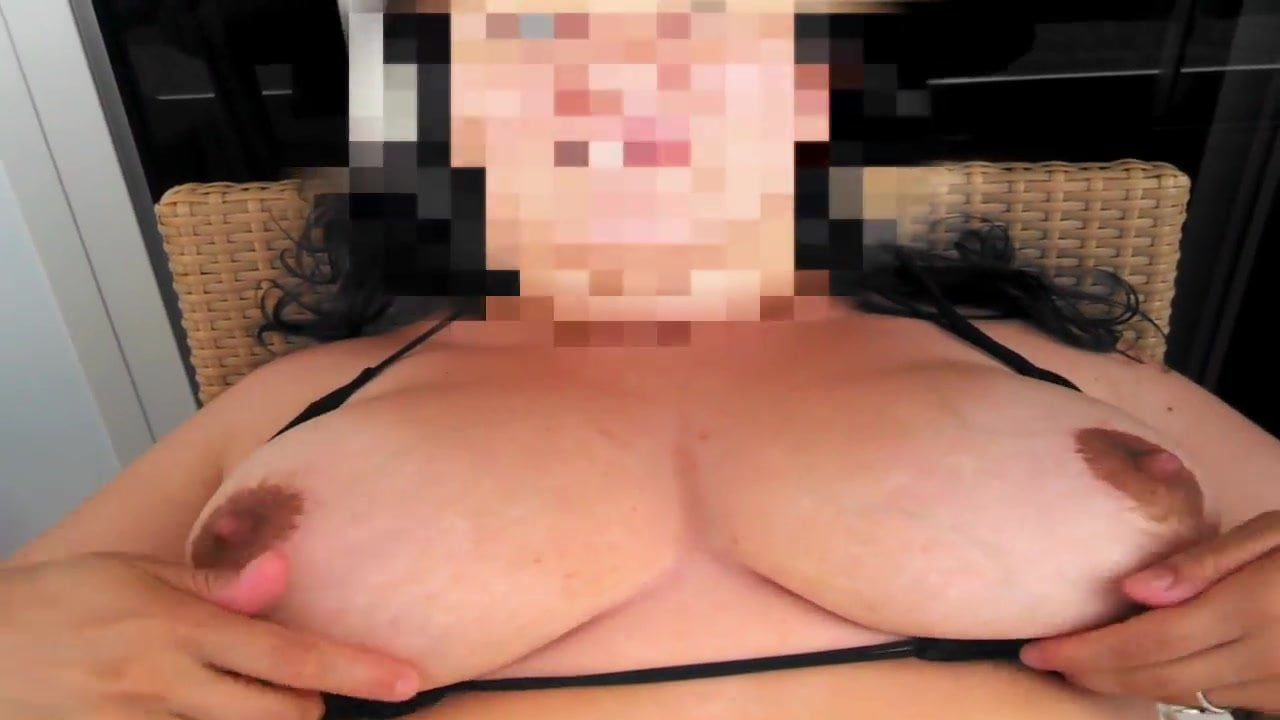 Video of her massaging her tits