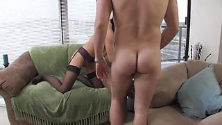 Pretty faced Mandy relaxes while her lover gives her juicy pussy a licking