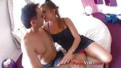 Uncontrolable orgasm teen debutante!!! French amateur