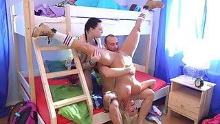 Fake Hostel Big busty girls have their way with Australian b