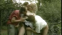 Moana Pozzi gangbang orgy Inside Napoli (1990)