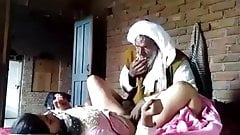 Paki village bhabi fucking wih old father in lw.