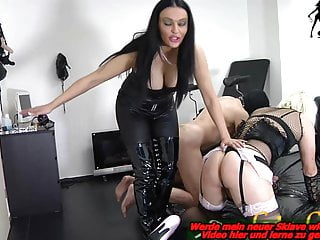 Bisexual male fanatasy Bisexual male slave fuck strapon from german domina bdsm