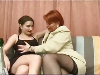 Girl lesbian mature old young Mature mom and girl -lesbian games