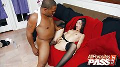 Blacked, Mina Leigh, Big Cock Cramming
