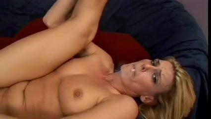 Hot Blonde MILF Smoking BJ Bang and Assfucked