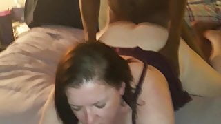 QoS southern hotwife takes young BBC deep