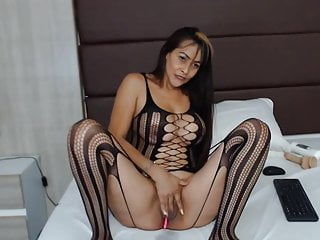 Dog shaped dildo sex - Sexy columbian cam model milfbigboobs