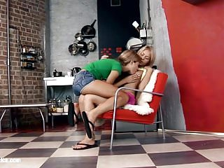 Engagement rings for lesbians Sexy lesbians chiara and anya engage in a hot twosome on