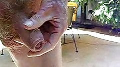 Old Man Pissing