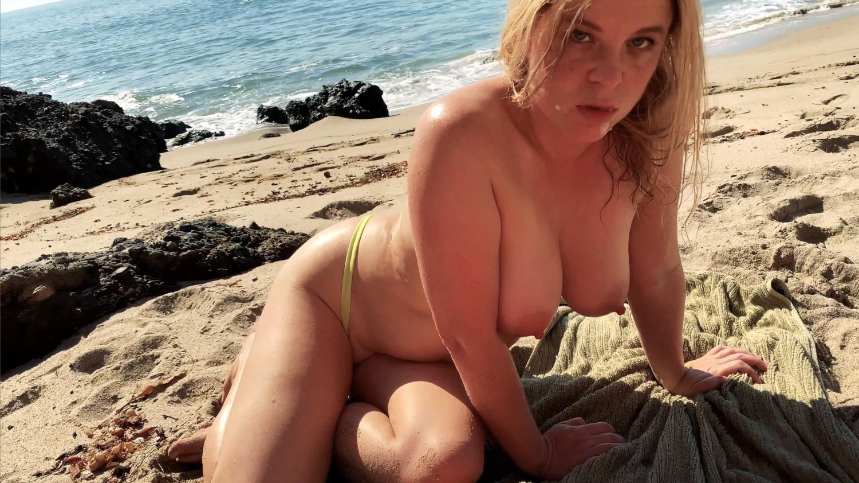 Am Strand Verführt