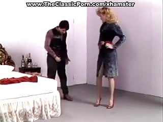 Fuck abused high heels Retro wife in high heels wild fuck