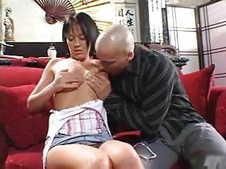 Latin dudes sucking cock Young brunette with blue eyes and great tits sucks and fucks bald dudes cock