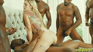 Blondes Vs BBC - DamiWan PMV