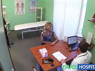 Adult discount dvd sales Fake hospital doctor offers blonde a discount on new tits