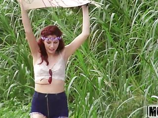 Heroes stars naked - Three naked teen hippies video starring alexis blaze - mofos