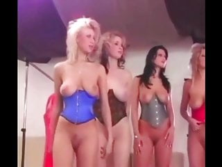 Naked enormase boobs Girls with big boobs naked on a fasion show