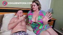 bbw milf catching stepson