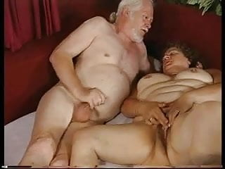 Handjob grandma - Grandma and grandpa - both masturbating