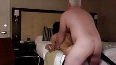 Horny Old Rich Man Fucks His Sexy Slim Teen Hooker