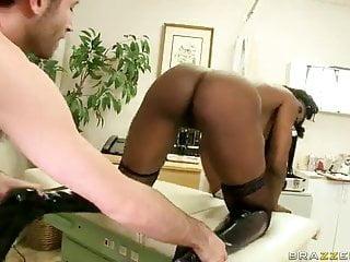 Nyomi banxxx anal scene elegant angel Ebony milf nyomi banxxx gets assfucked from behind