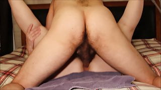 Red Hot View of Homemade Hairy Pussy Creampie: Cum in Cunt