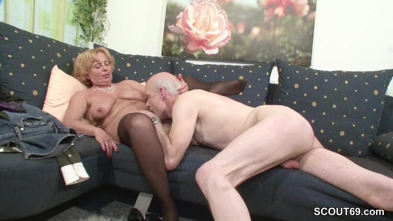 Oma Und Opa Beim Sex