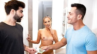 HUNT4K. Arrogant man spends all money to drill sweet pussy