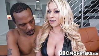 Massive black dick pounding juicy MILF Katie Morgan