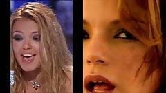 Severine Ferrer's tongue