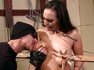 Spanking bondage training - Bbw 24 years old margaritas female slave training.