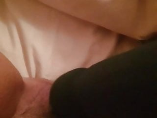 Magic fingers bed vibrator - Just needed to cum with vibrator before bed