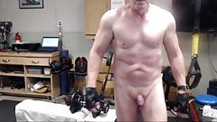 Daddy Mike's gym session