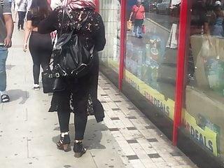 Uk chav porn - Turkish chav in adidas pants peachy ass candid uk