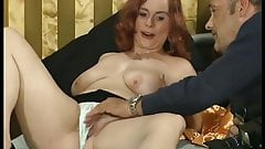 chubby redhead picked up for her first porn video