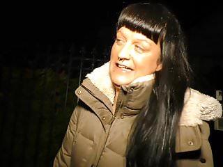 News reporter sex Deutschland report - mature newbie in german sex reportage
