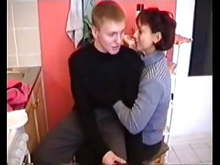 Women with transsexuals - Mature russian women with young men part 1