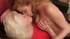 Old and young lesbian. Ashley and Lennora