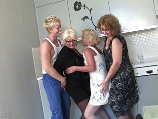 Group fucks stepmom kitchen slutload Grannies and moms fuck boy on kitchen