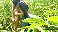 Desi girl has sex in village, hot porn