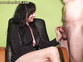 Mayas handjob videos cumshots - 2 cumshots on maya legs