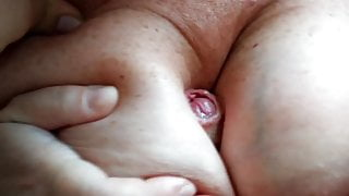 Love to cum between her giant tits