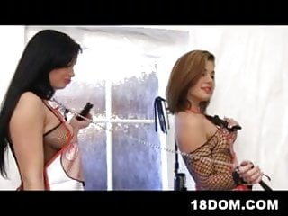 Sex tricks for guys to girls - 2 girls hunt for guys on the streets and brutally fuck them