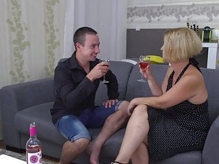 Amazing sex store Mom and son having amazing sex on 1st date