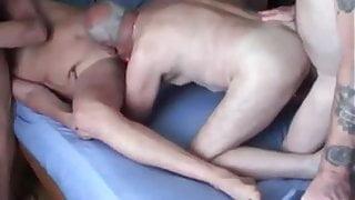 Orgy with StepDaddies