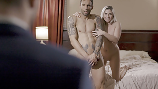 MILF Cheating on Husband with Co-Worker