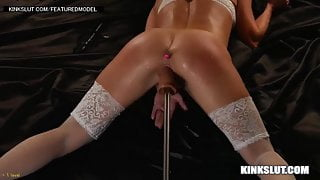 UNREAL!!!!  FUCK MACHINE SQUIRTING ORGASMS