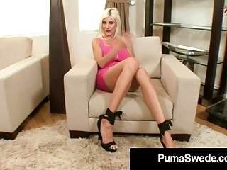 Puma swede free sex videos - Masturbation freak puma swede rubs her hot creamy wet cunt
